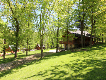Enjoy a get away at Grumpsters Cabins