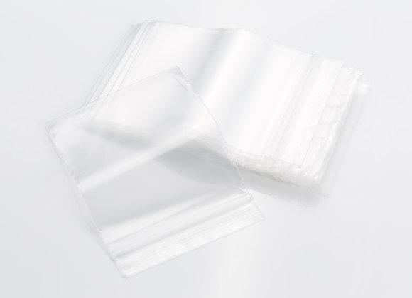 Sachet plastique zip transparent