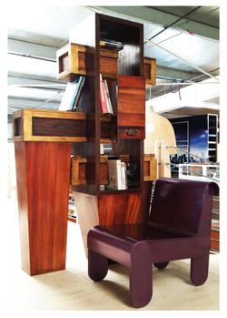 custom bookcase