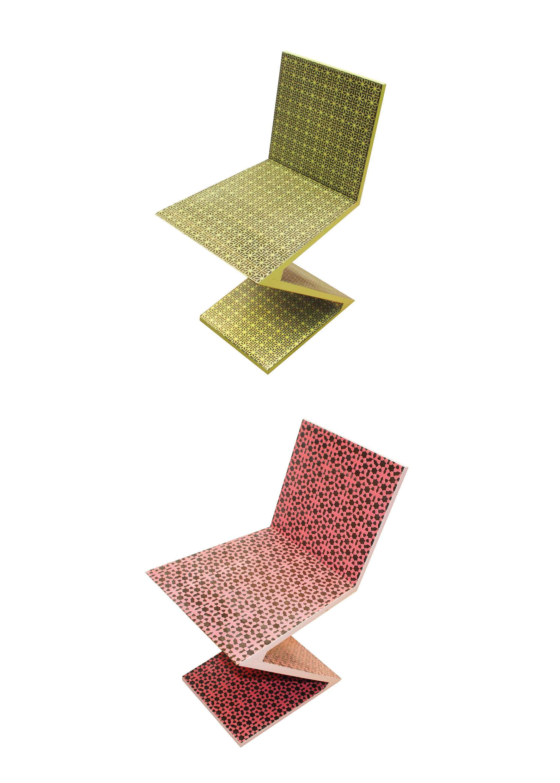 custom rietveld z chair