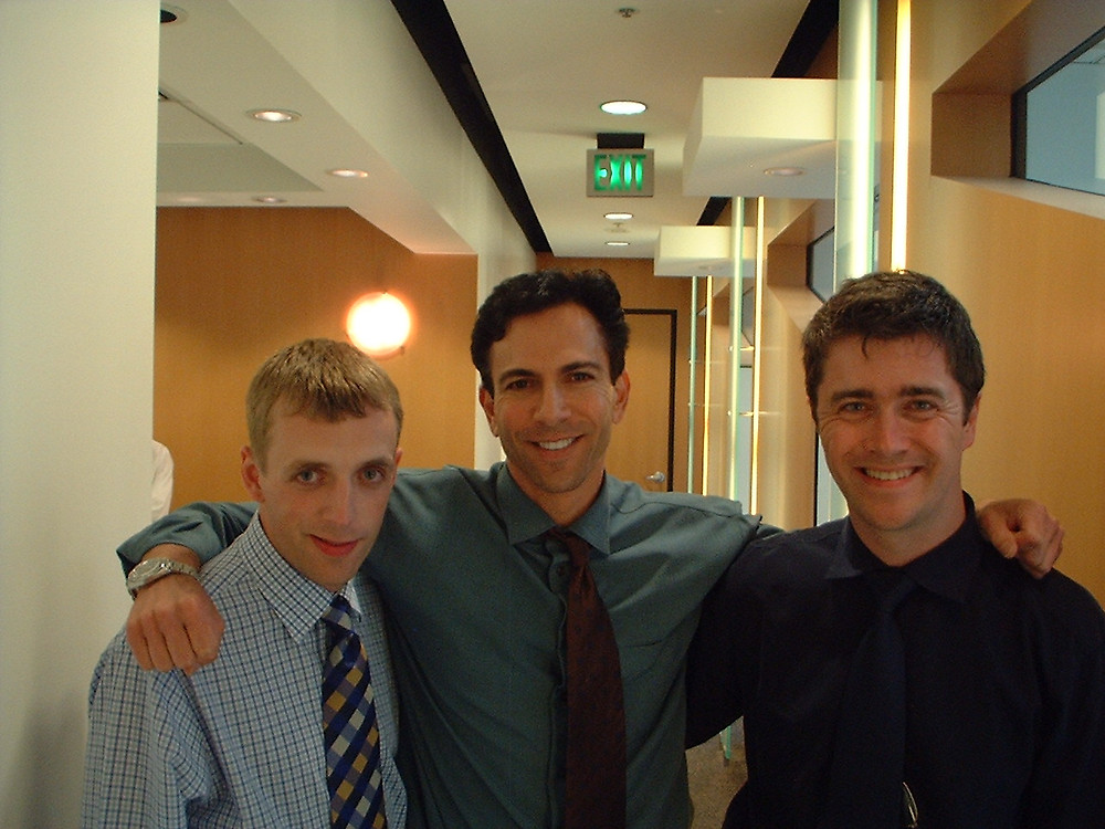 Me and my good friend Dr Mark with Dr Dorfman