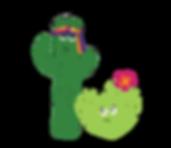 Mojave and Sahara Kacti Kids