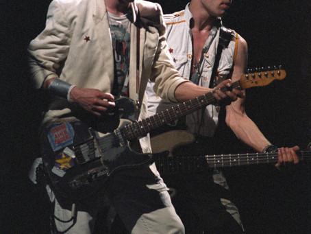The Clash - Concert/backstage - 4/30/84 Maple Leaf Gardens, Toronto Canada