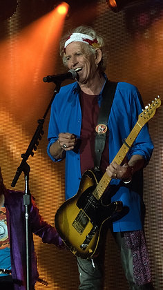 Keith Richards #5 - London 2018