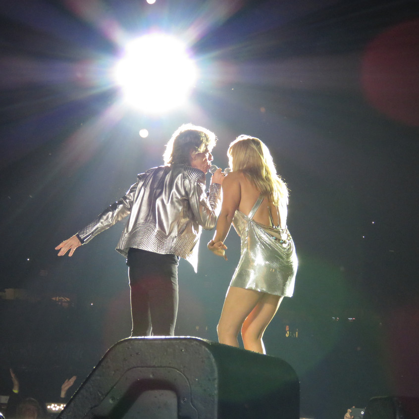 Mick with Grace Potter