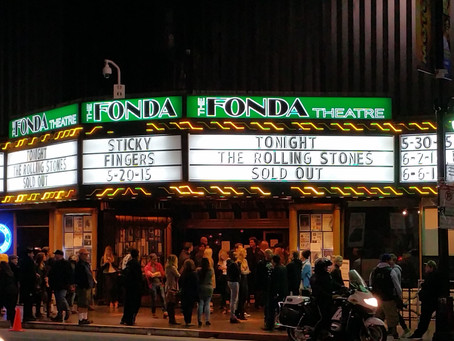 The World's Greatest Club Gig - Recollections on The Fonda