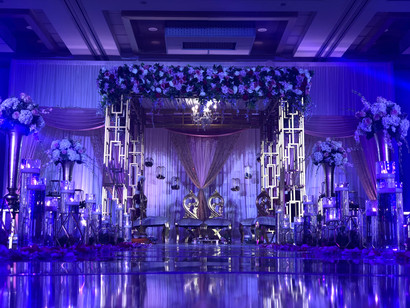 D & S Event Solutions Light and Decor Set up