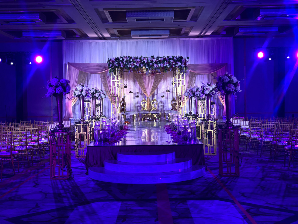D & S Event Solutions specializes in audio/sound for your weddings. Their decor is made with precise hands and a memorable design.