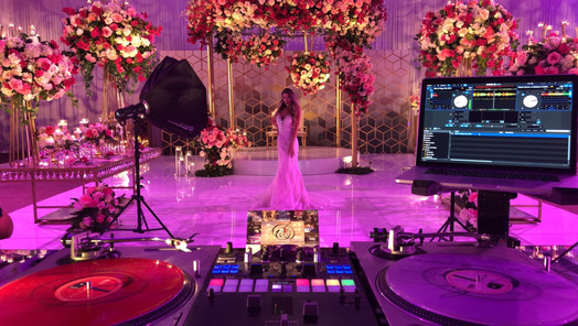 D & S Event Solutions Sound and Decor Set up