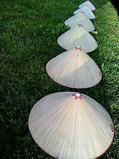 row hats descending order- Sunrise to su