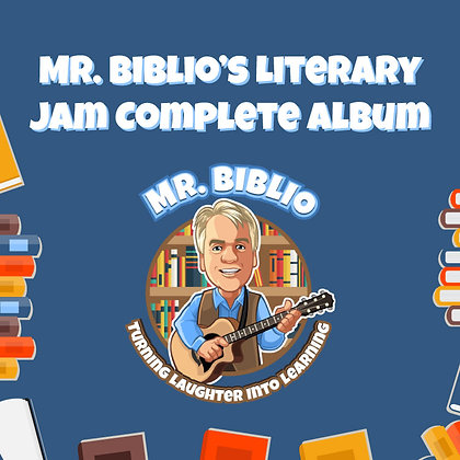 Mr. Biblio's Literary Jam Album Volume 1