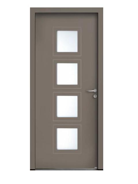 Porte d'entrée mixte Bel'm, modèle Marsa (extérieur).