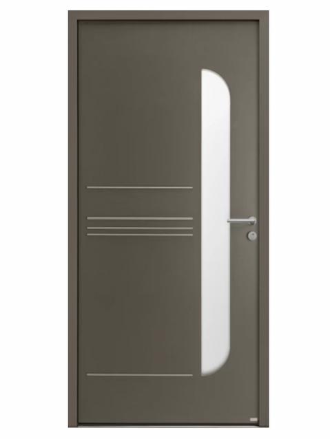 Porte d'entrée Aluminium Expression - Bel'm Expérience