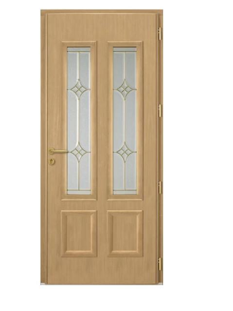 Porte d'entrée mixte Bel'm, modèle Minnesota (intérieur).