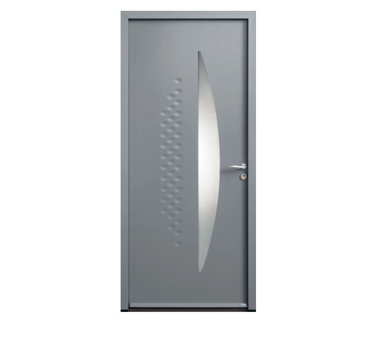 Porte d'entrée Acier Modane