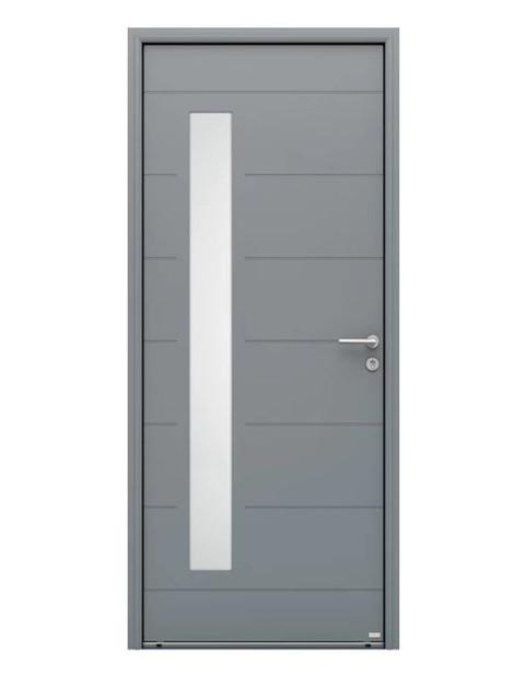 Porte d'entrée Aluminium Albe