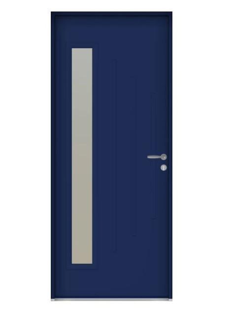 Porte d'entrée Aluminium Belleville