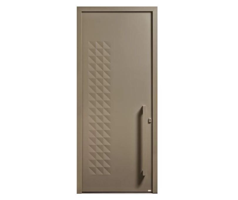 Porte d'entrée Aluminium Origami