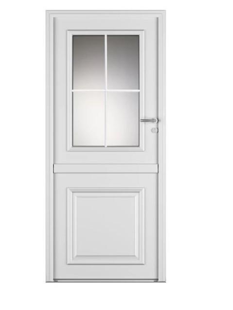 Porte d'entrée mixte Bel'm, modèle Bocage 1 (extérieur).