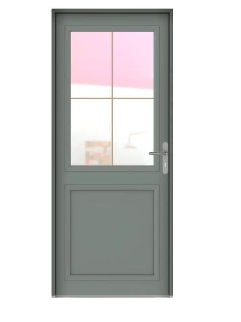 Porte d'entrée Aluminium Langeais