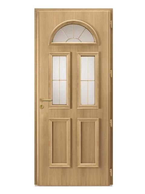 Porte d'entrée mixte Bel'm, modèle Gaspésie (intérieur).