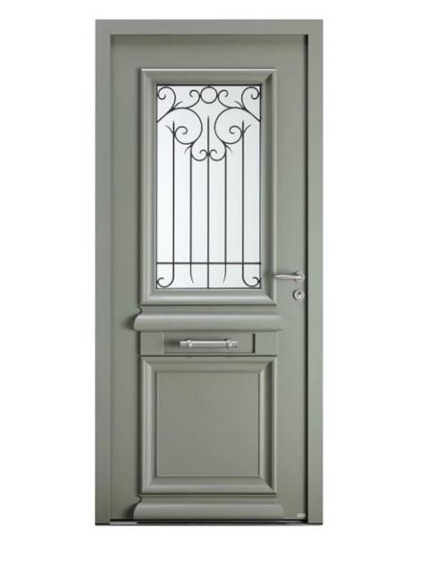 Porte d'entrée mixte Bel'm, modèle Héliopolis (extérieur).