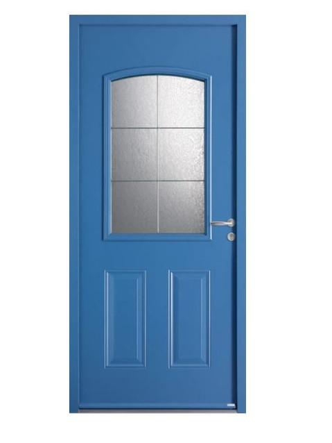 Porte d'entrée acier Bel'm, modèle Portland