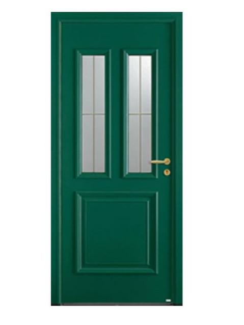 Porte d'entrée mixte Bel'm, modèle Flavie (extérieur).