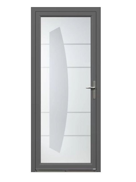 Porte d'entrée Aluminium Kamy