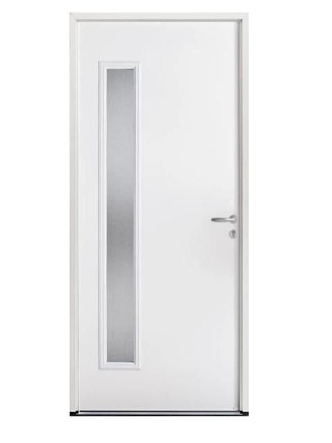 Porte d'entrée acier Bel'm, modèle PSA 4