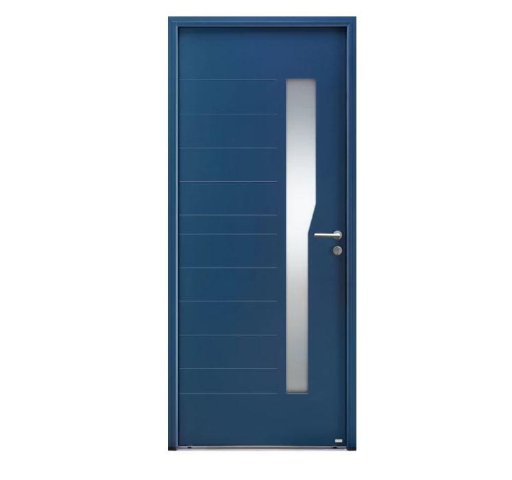 Porte d'entrée Aluminium Mirage