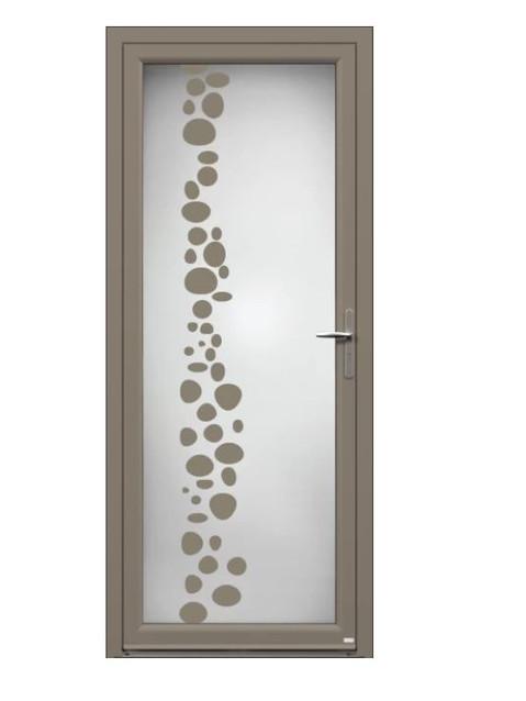 Porte d'entrée Aluminium Etincelle