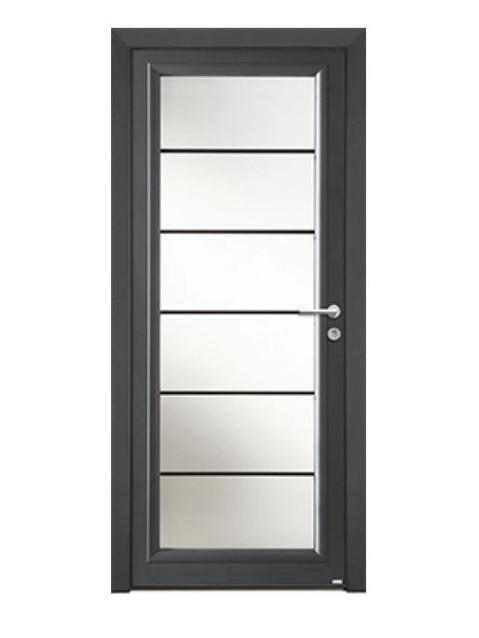 Porte d'entrée Aluminium Lotus
