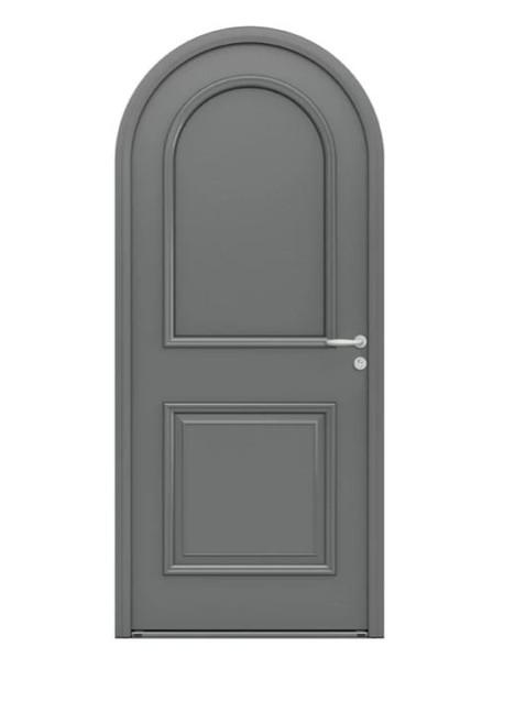 Porte d'entrée mixte Bel'm, modèle Iris (extérieur).