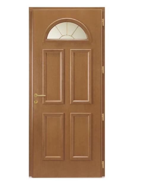 Porte d'entrée mixte Bel'm; modèle Hudson (intérieur).