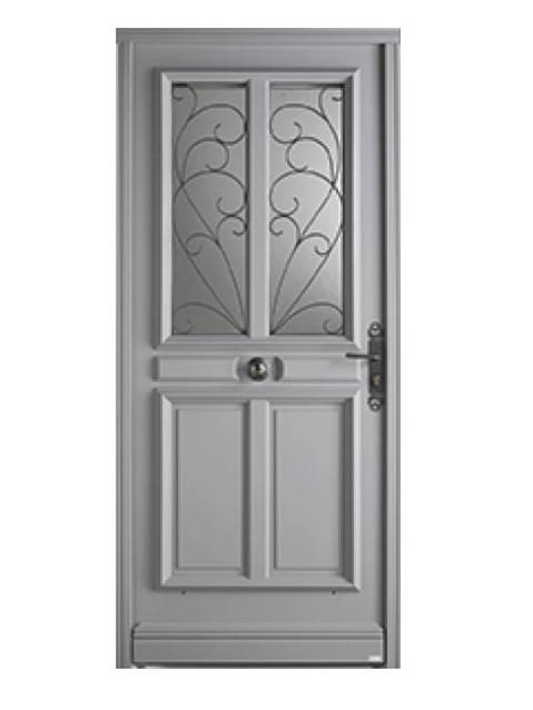 Porte d'entrée bois Bel'm, modèle Turmel.