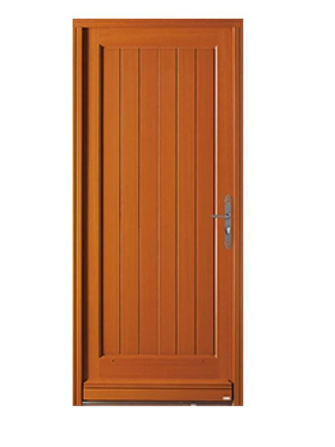 Porte d'entrée bois Bel'm, modèle Sardaigne.