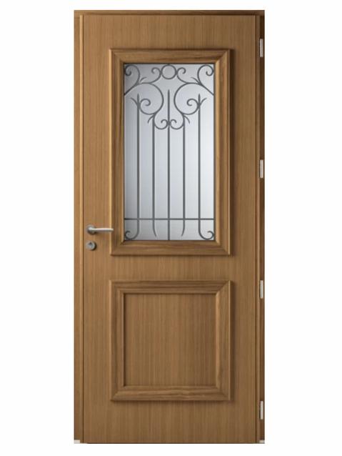 Porte d'entrée mixte Bel'm, modèle Héliopolis (intérieur).