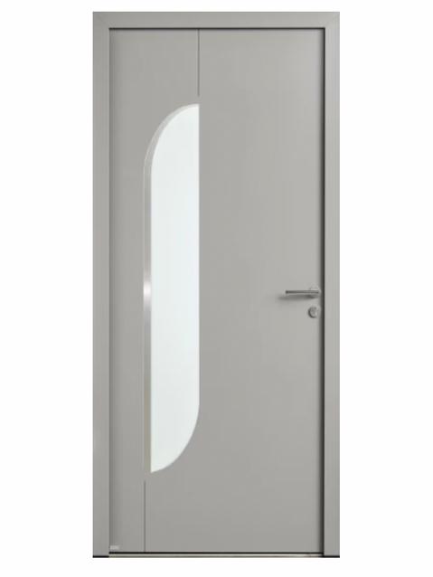 Porte d'entrée Aluminium Lituane