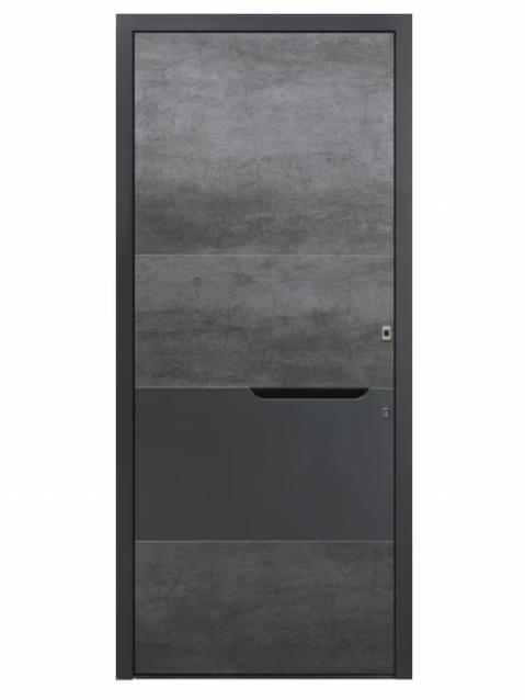 Porte d'entrée Aluminium Graphiste