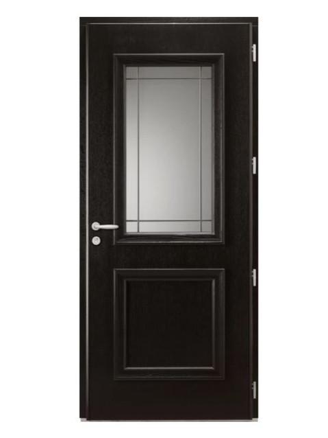 Porte d'entrée mixte Bel'm, modèle Isaac (intérieur).