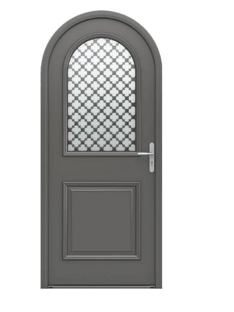 Porte d'entrée mixte Bel'm, modèle Artémis extérieur.