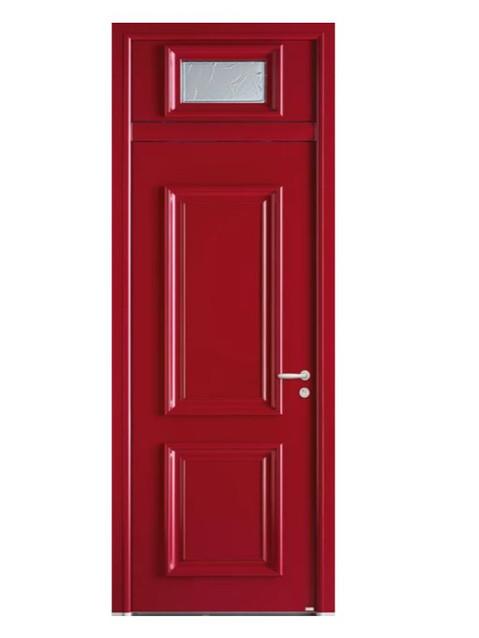Porte d'entrée mixte Bel'm, modèle Noé (extérieur).