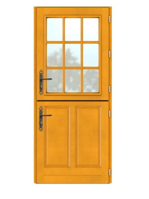 Porte d'entrée bois Bel'm, modèle Touraine.