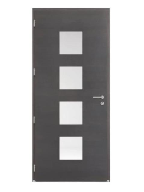 Porte d'entrée mixte Bel'm, modèle Marsa (intérieur).