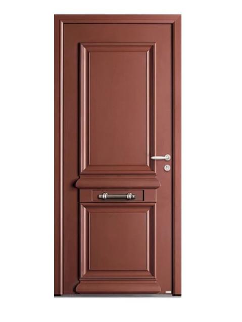 Porte d'entrée mixte Bel'm, modèle Odyssée (extérieur).