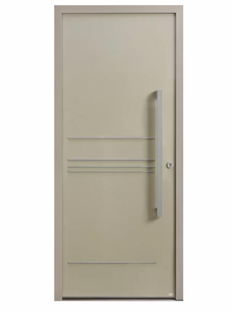 Porte d'entrée Aluminium Allure 2 - Bel'm Expérience
