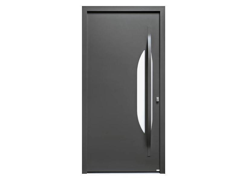 Porte d'entrée Aluminium Azur