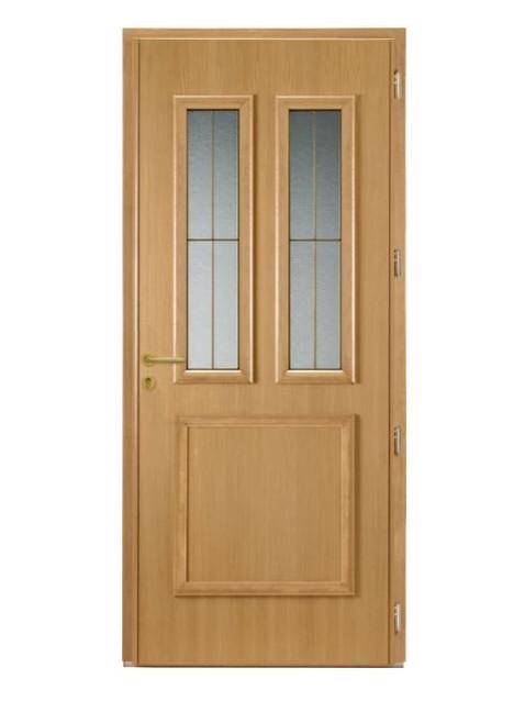 Porte d'entrée mixte Bel'm, modèle Flavie (intérieur).