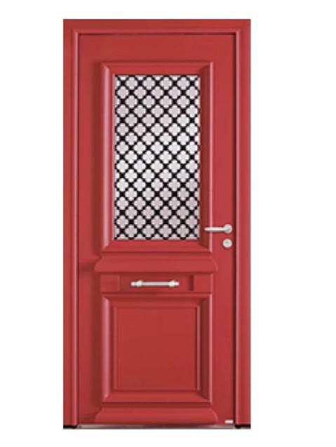 Porte d'entrée mixte Bel'm, modèle Athéna (extérieur).